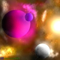 Amazing Planets by heavenly-roads