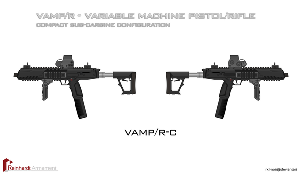 VAMPR Sub-Carbine Config. by Rxl-Noir