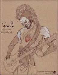 Wes Borland by junglecookie