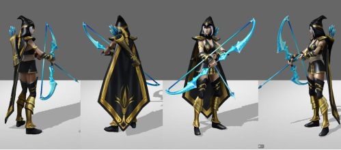 Ashe League of Legends Reference 1 by ShinjusWorkshop