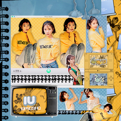 415|IU|Png pack|#13| by happinesspngs