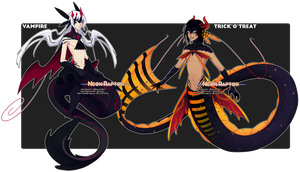[Auction] Halloween Fheleel! [Closed, TY!] by NeonRaptor