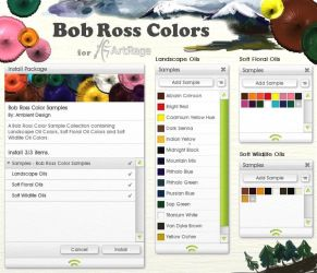 Bob Ross Colors for ArtRage by ArtRageTeam