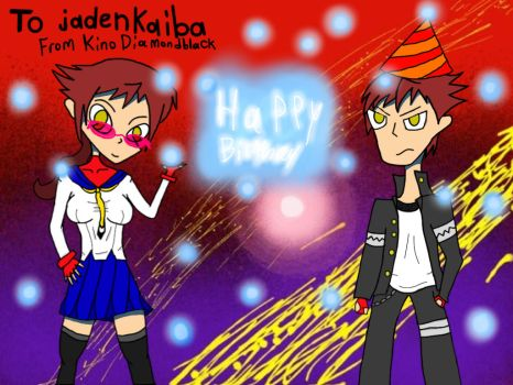Happy Birthday to jadenkaiba by KinoDiamondblack