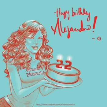 Taylor Swift for a Happy Birthday by Kino-Arcano