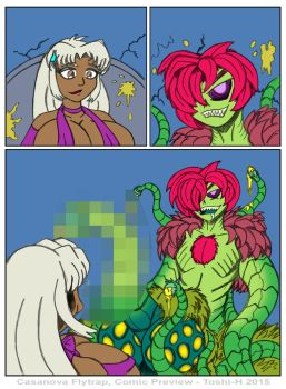 Casanova Flytrap Comic Preview - May 2015 by VioletVixenPro