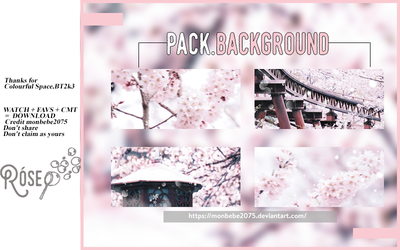 :: pack background 1# :: - cherry blossom by monbebe2075
