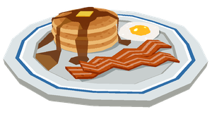 - Low Poly Breakfast - by coreymill