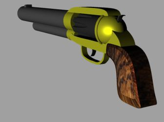 Revolver (rendered) by wapond