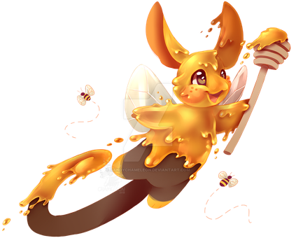 Charminis - Honey Bee DTA by CandyChameleon