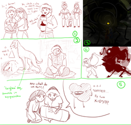Dipper + Mabel take Central Asia SKETCHDUMP by TigerMoonCat