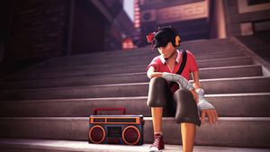 Boombox by PsychoLinChan