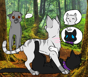 Warrior Cats #1: Attack of the strange She-cat by AuraSparkle
