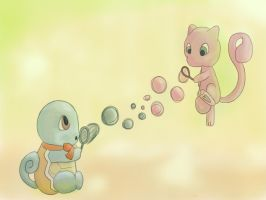 Bubble fight by tamisise