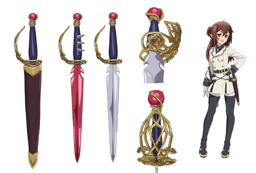Seraph of the End: Vampire Weapon (Modified) by poproxs--DrPepper23