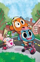 The Amazing World of Gumball #7 by missypena