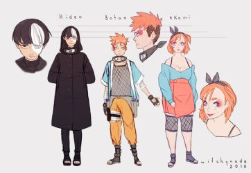 Naruto FC - New team by WitchyNade