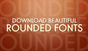 Beautiful Rounded Fonts Pack by softarea