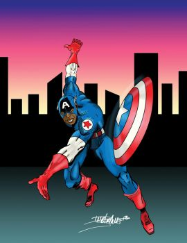 Captain America by hypolitus
