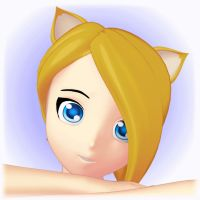 Cute Kitty (animated) by 3doutlaw