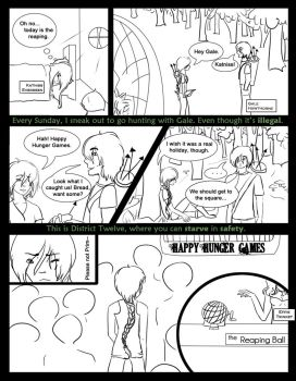 Hunger Games Page 1 by AshiraAngel