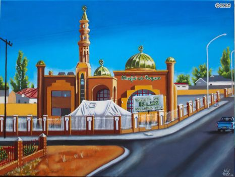 'Block 6 Mosque, Gaborone' by MbK14