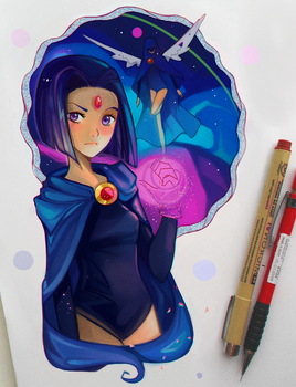 +Teen Titans - Raven+ by larienne