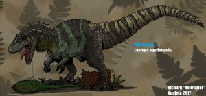 Retrosaurs: Laelaps aquilunguis ( Updated !) by Hellraptor