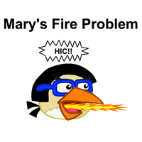 RBC Ep. 19 Mary's Fire Problem Title Card by Mario1998