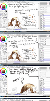 Hair color tutorial by hews for a certain friend by Hews-HacK