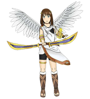 AoT/SnK OC Fenna as Pit [Collab] by Yukaishironeko