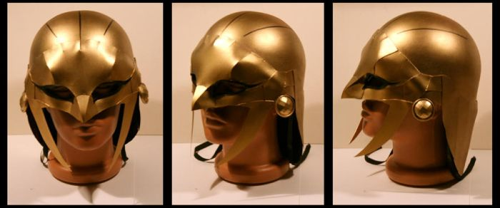 Hawkgirl Helmet Justice Lords by CraftyWingy