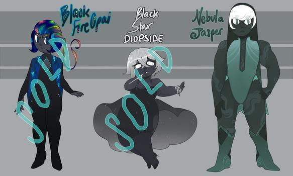CLOSED dark gem adopts by noodlesqueen