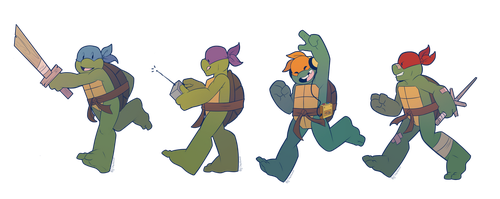 Turtle Tot Stickers by Shellsweet