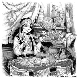 The Pirate Stall by Alene