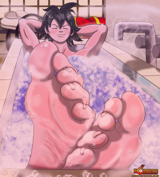 Anything For Rindoukan: Reward of Relaxation... by Sir-Bombers