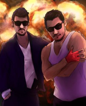 BOOM (JackSepticEye and Markiplier) by Shuploc