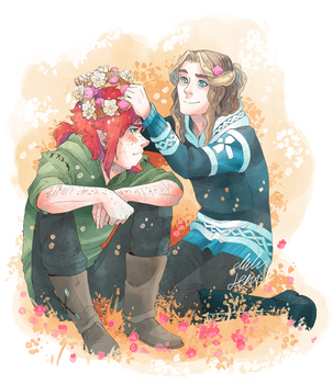 Flower Crowns for Valentine's by MikaelHankonen