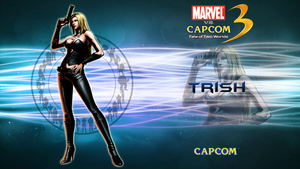 Marvel VS Capcom 3 Trish by CrossDominatriX5