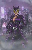 catwoman by ElecoMoroco