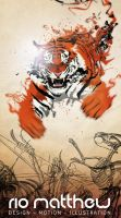 The Tiger by Riomatthew