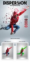 Dispersion Photoshop Action by hemalaya