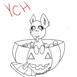 Halloween YCH (OPEN) by roselover404