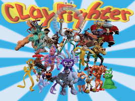 ClayFighter AllStar Wallpaper by RadRapo