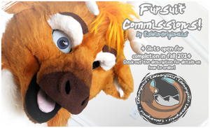 Fursuit Commissions CLOSED by Tsebresos