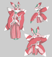Lurantis Doodles by Star-of-Sparks