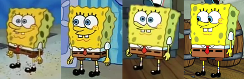 SpongeBob SquarePants Over the Years by BoyWhoLovesCocaCola