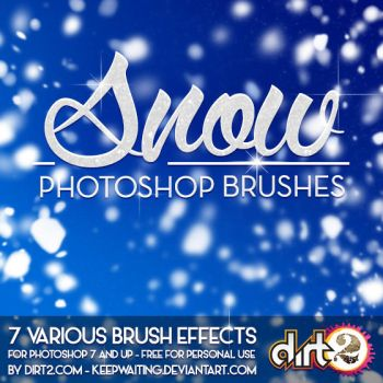 SNOW PS7 Brushes and IMG Pack by KeepWaiting