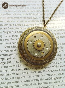 Mechanical Core Locket by AetherWidgets