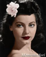 Young Ava Gardner. by M3ment0M0ri
